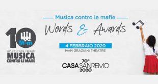 Premio Musica contro le mafie a Casa Sanremo 2020