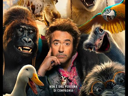 Dolittle con Robert Downey Jr dal 30 gennaio al cinema