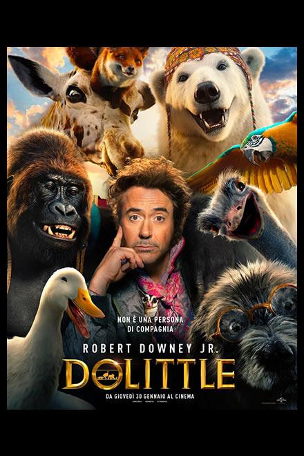 Robert Downey Jr è il dottor Dolittle