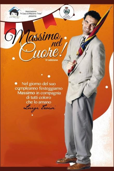 A casa di Massimo Troisi 2020