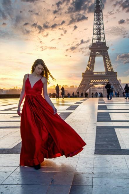 Alessia Marseglia a Parigi