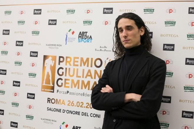 Andrea Carpenzano al Premio Giuliano Gemma. Foto di Claudia D'Acunzo e Giancarlo Fiori