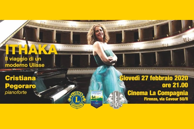 Cristinana Pegoraro in concerto per i Lions