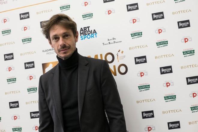 Giorgio Pasotti al Premio Giuliano Gemma. Foto di Claudia D'Acunzo e Giancarlo Fiori