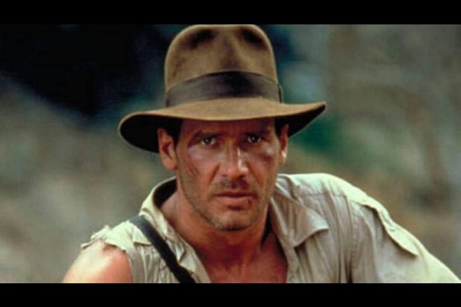 Harrison Ford nei panni di Indiana Jones. Foto dal Web