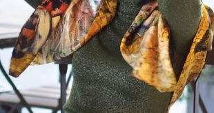 Juliia Palchykova per RunWay Show alla Milano Fashion Week 2020