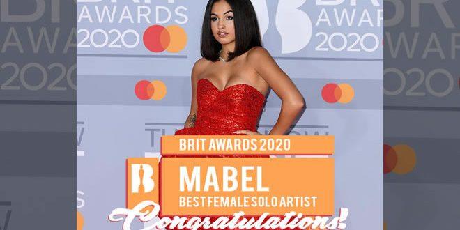 Mabel, aspettando Milano il trionfo ai Brit Awards