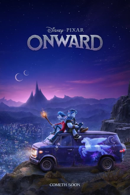 Onward - Disney Pixar