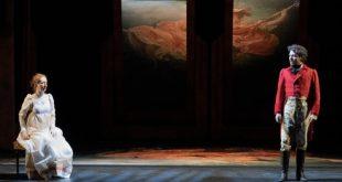 Riccardo Buffonini e Valentina Picello in Orgoglio e Pregiudizio. Foto di Matteo Delbï