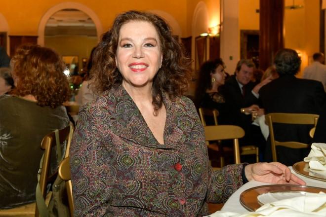 Stefania Sandrelli al party. Foto di Giuseppe Piscitelli