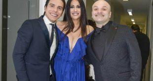 Un mondo di solidarietà - Il direttore artistico Diego Di Flora e i conduttori Maria Mazza e Peppe Iodice