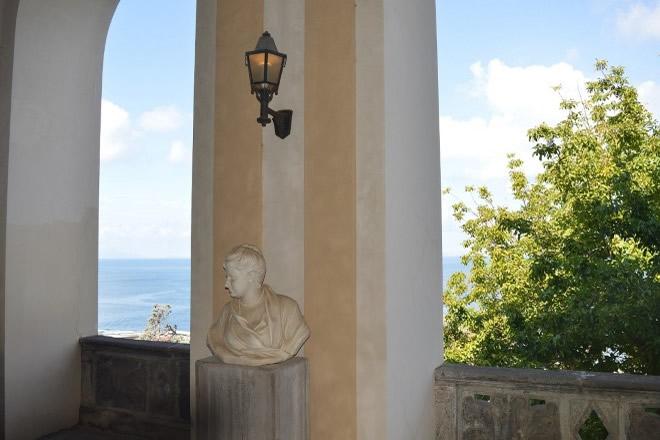 Vista dal Museo Correale. Foto da Ufficio Stampa