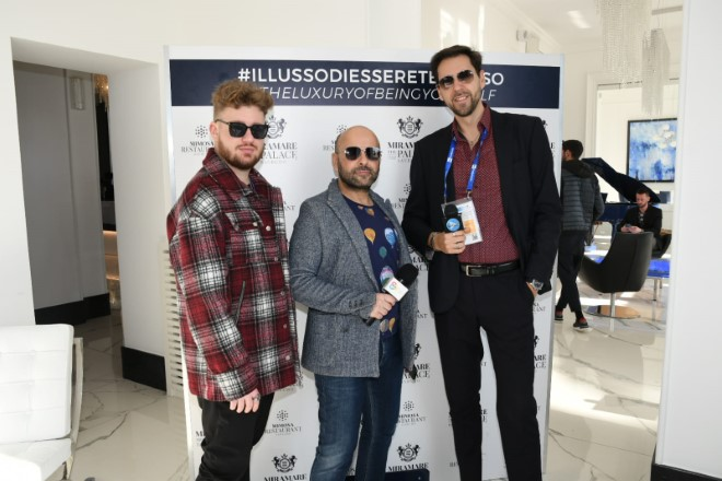 da sinistra Daniele Cavallaro, Gaetano Gaudiero e Francesco Russo