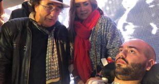 Paolo Palumbo con Al Bano e Romina