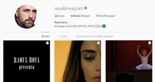 Raoul Bova su Instagram
