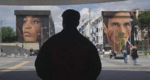 Un frame di Comme Fosse Stato Niente dei Napoli Milionaria