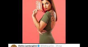 Commento sui social di Elettra Lamborghini sul CoronaVirus