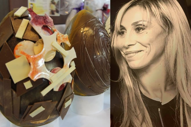 Ester Gatta - Uova di cioccolato