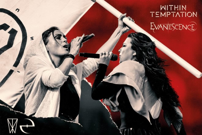Evanescence e Within Temptation - Worlds Collide Tour 2020