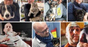 I veterinari della provincia di Napoli. Foto da Facebook