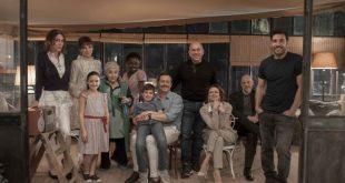 Il cast de La Dea Fortuna con Ferzan Ozpetek