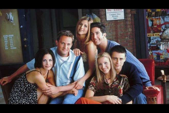 Il cast di Friends. Foto dal Web