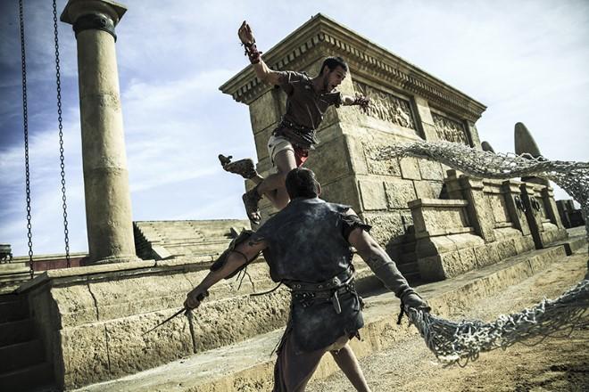L'arena dei Gladiatori di Roma World a Cinecittà World