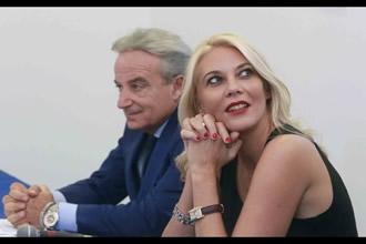 Luciano Paulillo con Eleonora Daniele