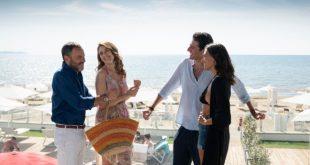 Massimiliano Gallo, Diana Del Bufalo, Giampaolo Morelli e Serena Rossi in 7 ore per farti innamorare. Foto da Ufficio Stampa