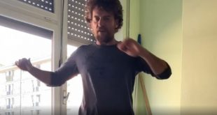 Maurizio Lastrico su Instagram con l'allenamento in terzine Dantesche