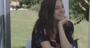 Alexandra in un frame di 16 Anni e Incinta