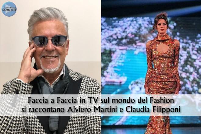 Alviero Martini e Claudia Filipponi nel un faccia a faccia in TV sul fashion post Covid-19