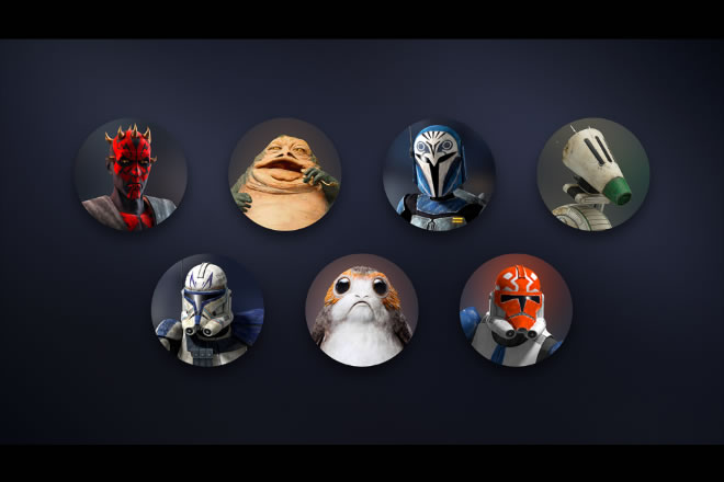 Avatar di Star Wars Day su Disney+