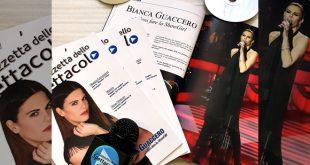 Bianca Guaccero, conduttrice di Detto Fatto, sulla copertina de La Gazzetta dello Spettacolo
