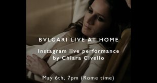 Chiara Civello per Bugari Live at Home