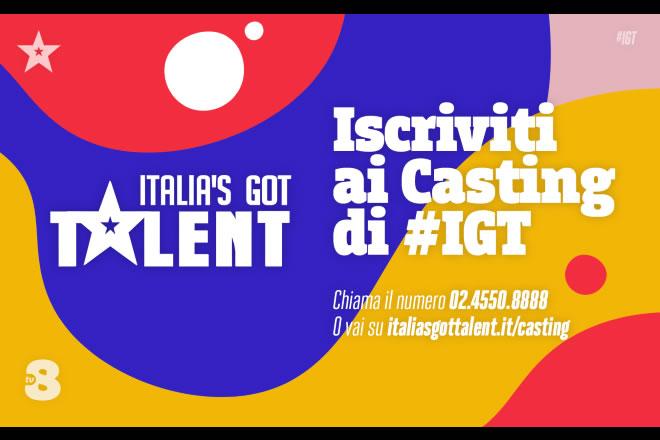 Italia's Got Talent - Casting 2020