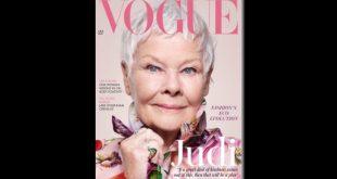 Judi Dench su Vogue