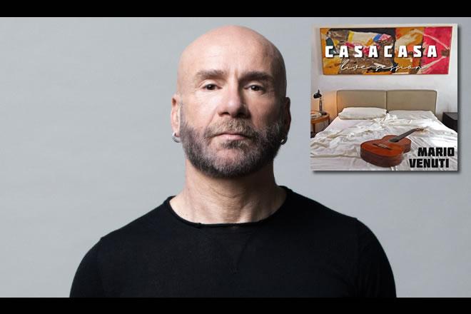 Mario Venuti e la sua raccolta CasaCasa Live Session