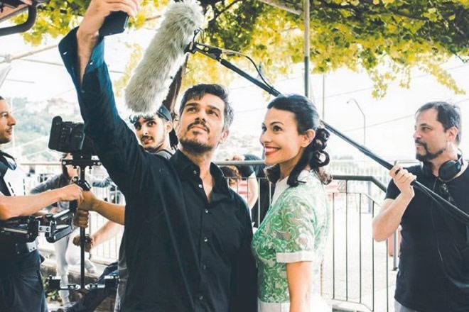 Massimiliano Varrese e Valentina Melis, i due protagonisti di Affittasi Vita