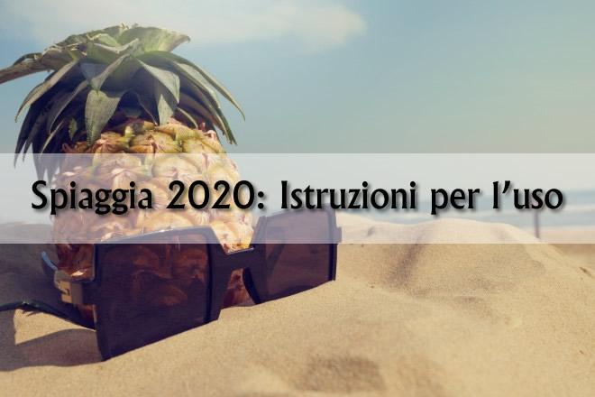 Spiaggia 2020 - Istruzioni per l'uso