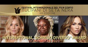 International Award Sorriso Diverso - Festival dei Tulipani di Seta Nera 2020
