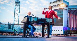 Mario Rosini live con Tino Martin stadio Amsterdam 08-06-2019. Foto da Facebook