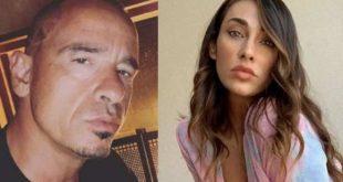 Sonia Lorenzini ed Eros Ramazzotti. Foto dal Web