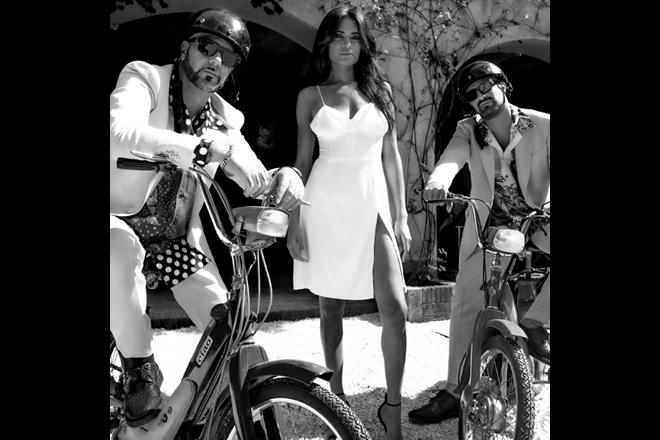 Takagi e Ketra con Elodie per Ciclone. Foto di Renato De Blasio