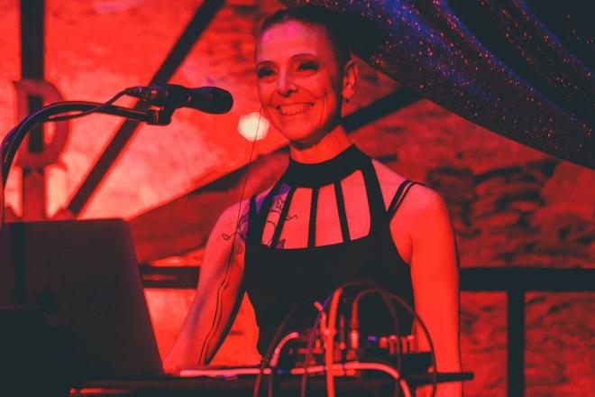 Alessandra Trinity Bersiani de La Grazia Obliqua. Foto di Alex Altieri