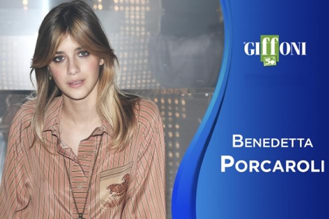 Benedetta Porcaroli per Giffoni Film Festival 2020