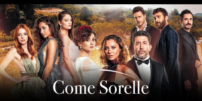 Come Sorelle, il debutto su Canale 5
