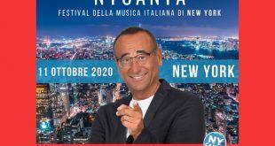 Festival della Musica di New York, conduce Carlo Conti