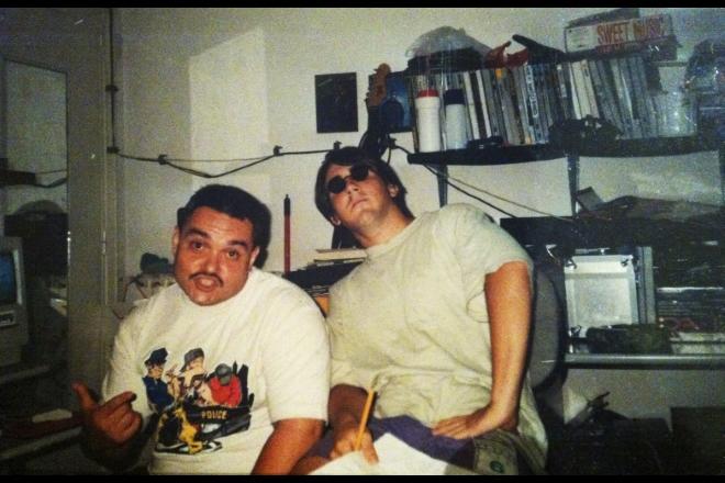 Ice One e Piotta negli anni '90