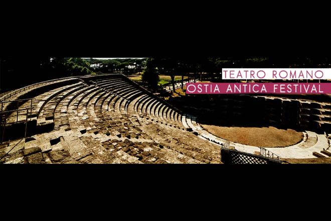 Il Teatro Romano dove si svolge Ostia Antica Festival